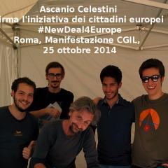 Ascanio Celestini firma il new deal
