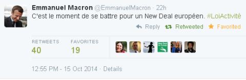 Emmanuel Macron #NewDeal4Europe