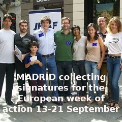 Madrid for European week of action