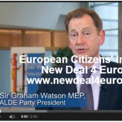 Sir Graham Watson #NewDeal4Europe